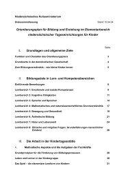 Orientierungsplan für Bildung und Erziehung im Elementarbereich ...