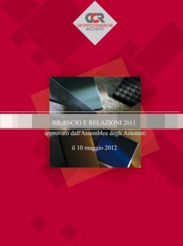 Bilancio d'esercizio e consolidato - Ricchetti Group