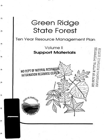 State ··Forest - Maryland Department of Natural Resources