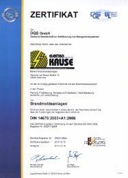 PDF Brandmeldeanlagen - Elektro-Kruse GmbH & Co. KG