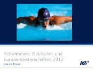 meisterschaften - ARD-Werbung Sales Services GmbH