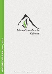 WINTERPROGRAMM 2011/2012 - Kelheimer Ski