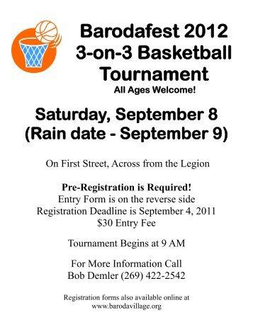 Team registration barodafest 3 on 3 basketball tournament village of baroda pronofoot35fo Choice Image