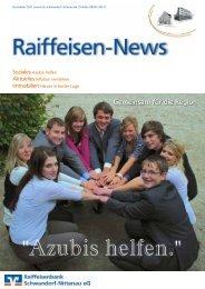 01/2011 - Raiffeisenbank Schwandorf-Nittenau eG