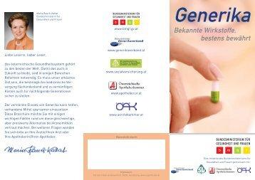 Generika Folder BM * NEU2
