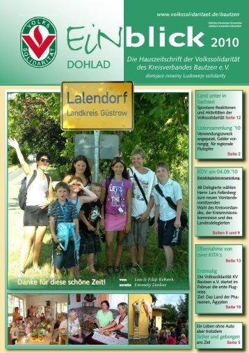 Ausgabe 4/10 - Volkssolidarität Bundesverband e.V.