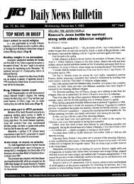 TOP NEWS IN BRIEF - JTA
