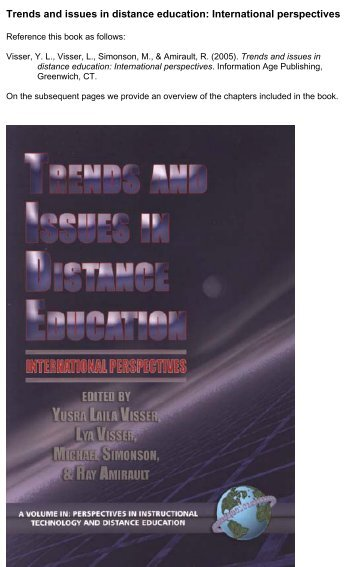 Trends and issues in distance education - Learning Development ...