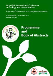 Download Programme & Abstracts - conference pages - IENE Infra ...