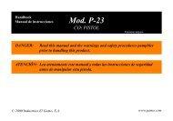 Mod. P-23 - Gamo USA