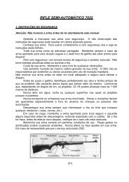 RIFLE SEMI-AUTOMÁTICO 7022 - CBC