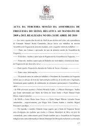 Acta da 3ª Assembleia de 24 de Abril - Junta de Freguesia do Seixo
