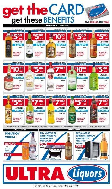 Card - Ultra Liquors