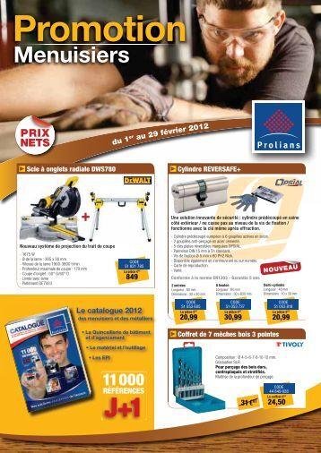 Promotion Menuisiers - Prolians