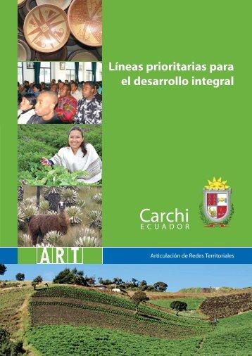 Líneas Prioritarias Para El Desarrollo Integral Carchi - Programa de ...