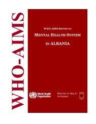 IN ALBANIA - World Health Organization