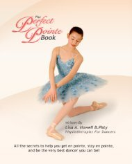Foot Control and Pointe Work - The Perfect Pointe Book