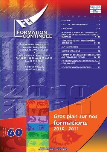 périodique - Institut de Formation continuée