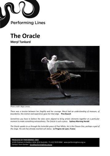 The Oracle - Meryl Tankard