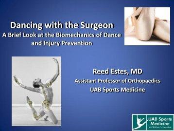the presentation - UAB Sports Medicine