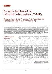 Dynamisches Modell der Informationskompetenz (DYMIK)