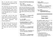 Infoblatt zum Firmkurs - Seelsorgeeinheit Philipp Neri, Heidelberg