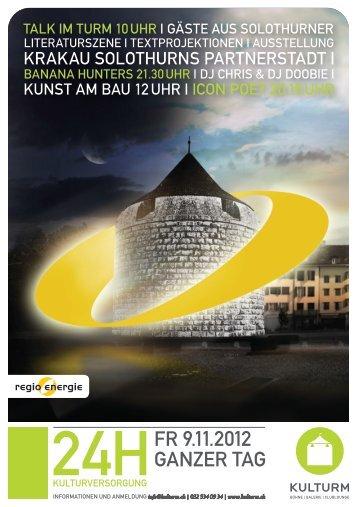Flyer - Regio Energie Solothurn