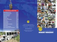 THE DEPARTMENT OF EMERGENCY MANAGEMENT - CERO