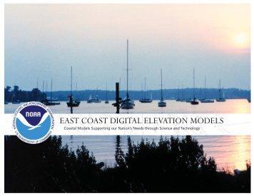 EAST COAST DIGITAL ELEVATION MODELS - NGDC - NOAA