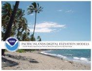 PACIFIC ISLANDS DIGITAL ELEVATION MODELS - NOAA National ...