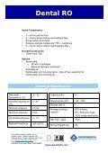 Dental RO Technical Specification - EWS Amplio - Page 2