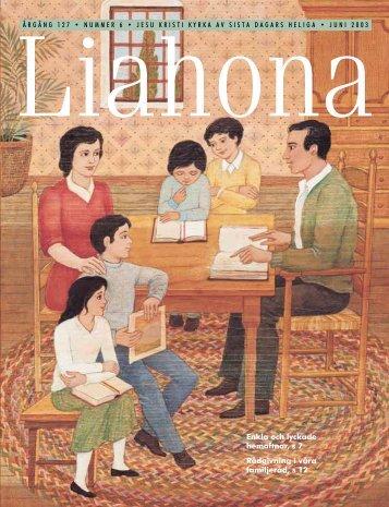 Juni 2003 Liahona