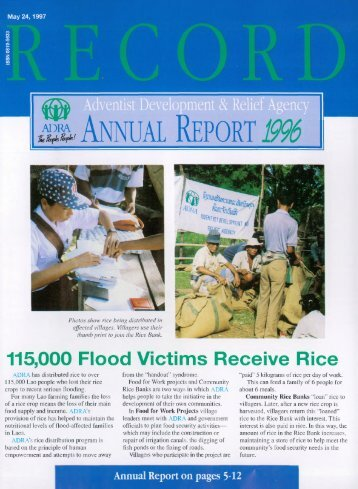 Annual Report - Adventistarchives.org