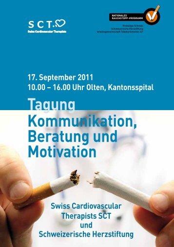 Tagung Kommunikation, Beratung und Motivation