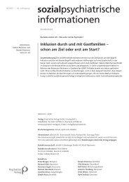 Inklusion durch und mit Gastfamilien – schon am ... - Kulturserver NRW