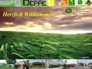Marketing und Kundendienst - Agrar-Markt DEPPE