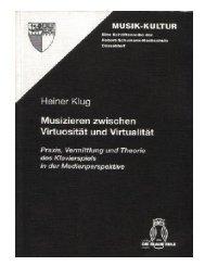 1. Einleitung - Heiner Klug