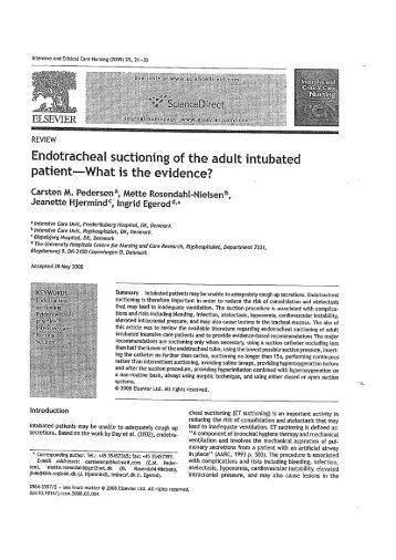 special purpose endotracheal tubes