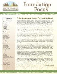 Philanthropy and Huron Go Hand in Hand - South Dakota ...
