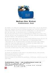 Medien-Box Winter - Stadtbücherei Soest