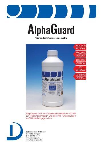 AlphaGuard - Laboratorium Dr. Deppe
