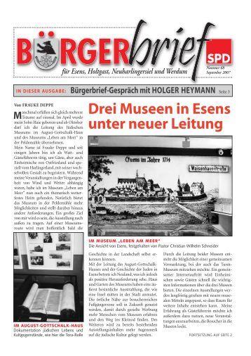 Drei Museen in Esens unter neuer Leitung - Marcus Bosse