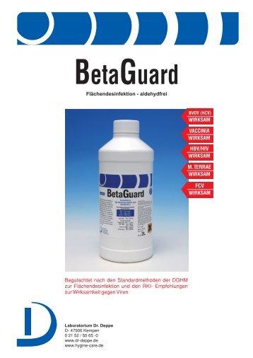 BetaGuard - Laboratorium Dr. Deppe