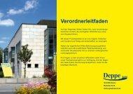 Verordnerleitfaden Deppe GmbH - Sanitätshaus Deppe