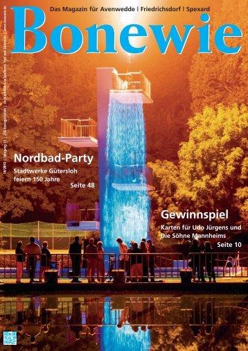 Nordbad-Party Gewinnspiel - Bonewie.de
