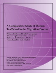 A Comparative Study of Women Trafficked in the - Web Networks ...