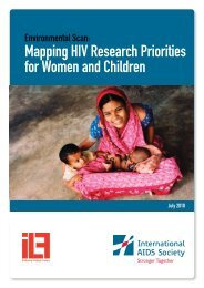Mapping HIV Research Priorities for Women - International AIDS ...