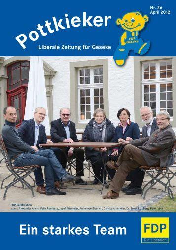 Download Pottkieker, Nr. 26, April 2012 - FDP Ortsverband Geseke ...