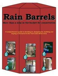 Rain Barrels - Ramsey Washington Metro Watershed District