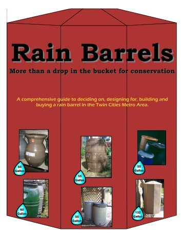 Rain Barrels - Ramsey Washington Metro Watershed District
